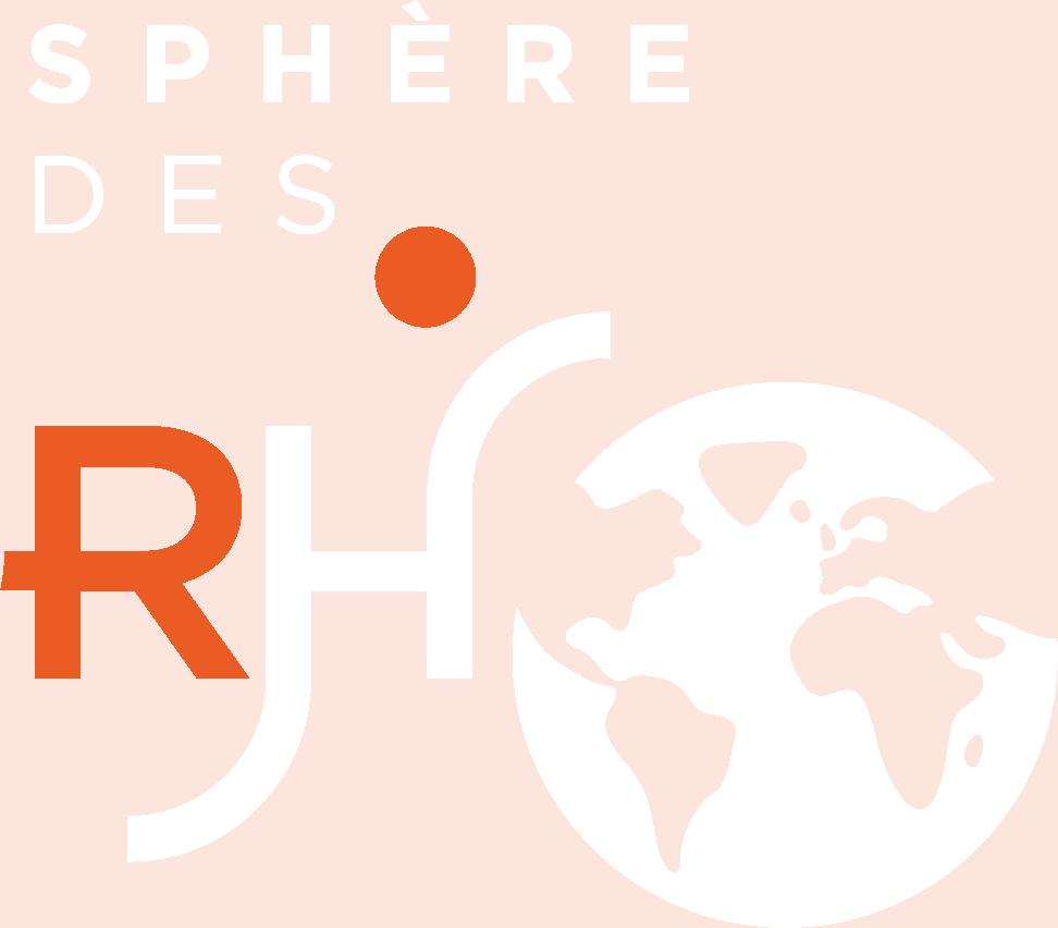 Logo blanc Sphère des RH